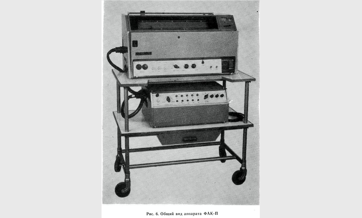 Synoptograf FAK-P, fotografia z instrukcji