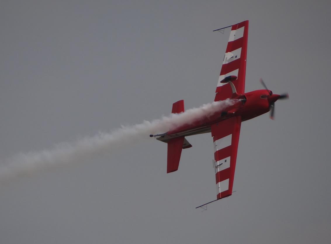 The Polish FireBirds aerobatic group. 2019. Photo by Karol Placha Hetman