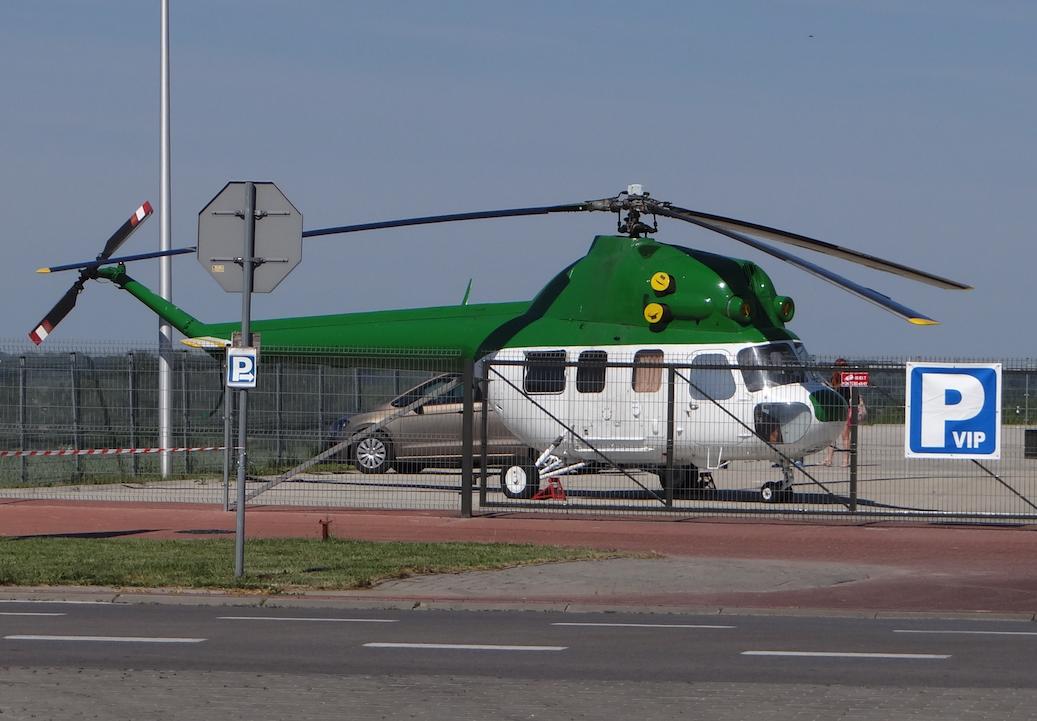 PZL Mi-2. Depułtycze Królewskie 2017 rok. Zdjęcie Karol Placha Hetman