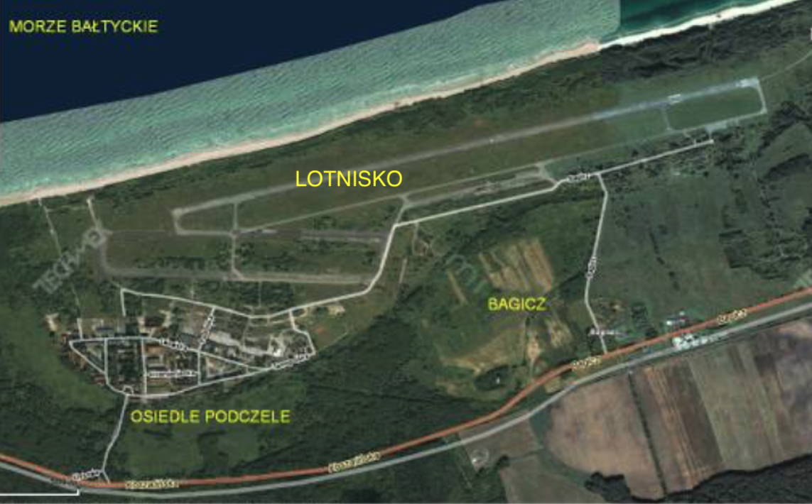 Bagicz airport. 2009 year. Photo of LAC