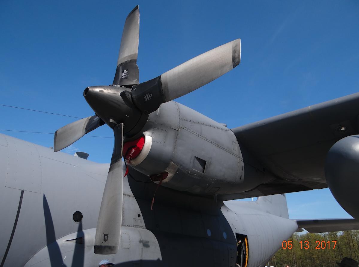 C-130 nb 1504. Powidz 2017 rok. Zdjęcie Karol Placha Hetman