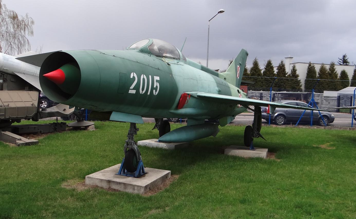 MiG-21 F-13 nb 2015. 2017 rok. Zdjęcie Karol Placha Hetman