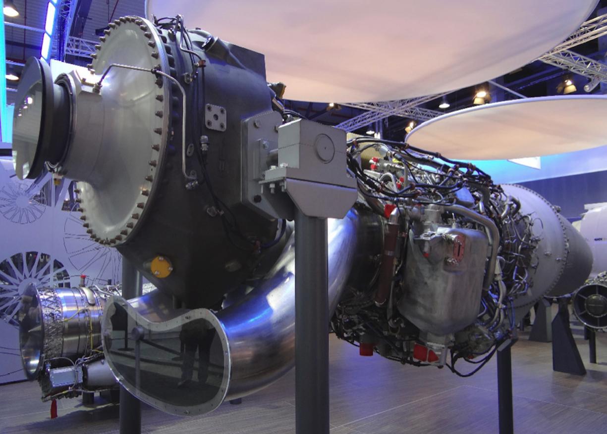 Rolls Royce Europrop TP400. 2014 rok. Zdjęcie Karol Placha Hetman