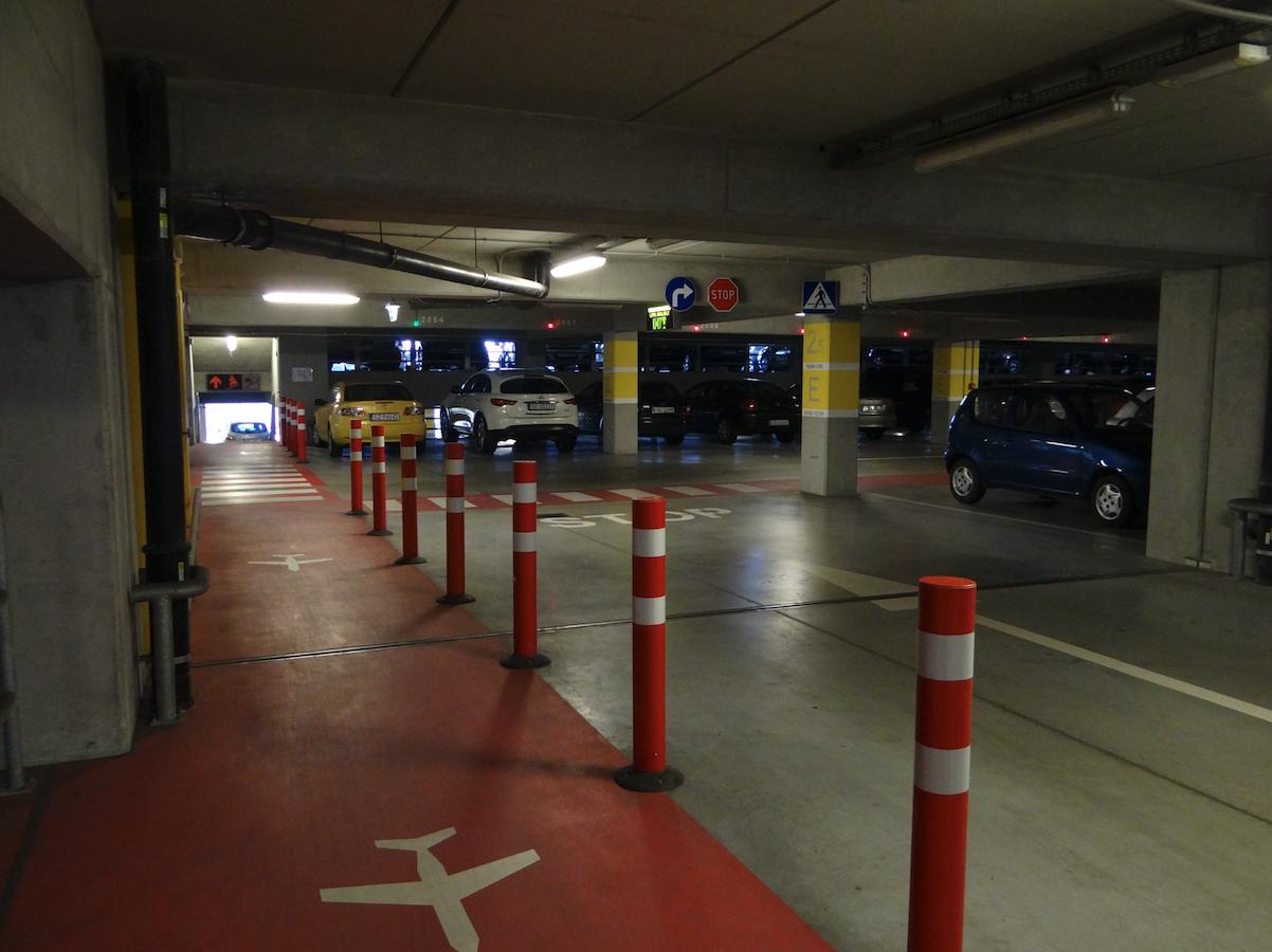 Multi-storey parking. 2011 year. Photo by Karol Placha Hetman