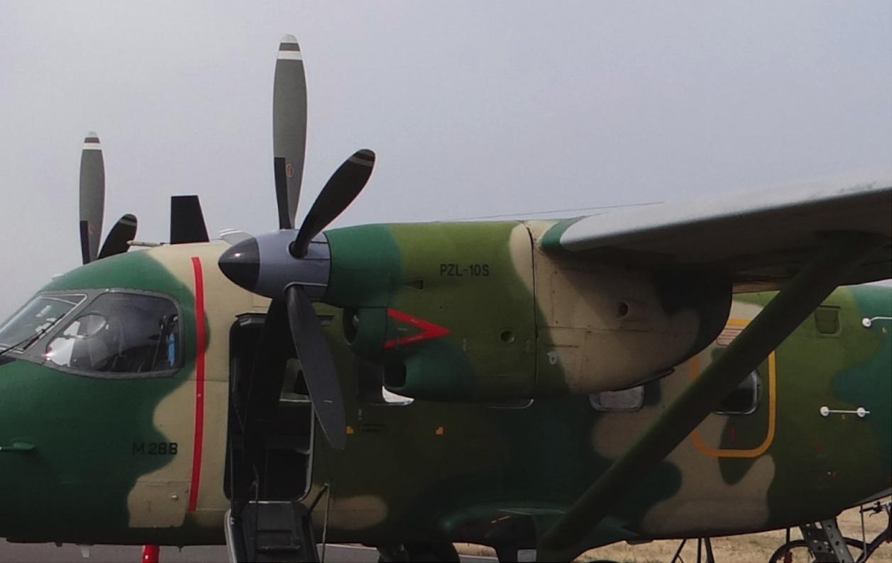 PZL M-28 B z silnikami PZL-10S. 2015 rok. Zdjęcie Karol Placha Hetman