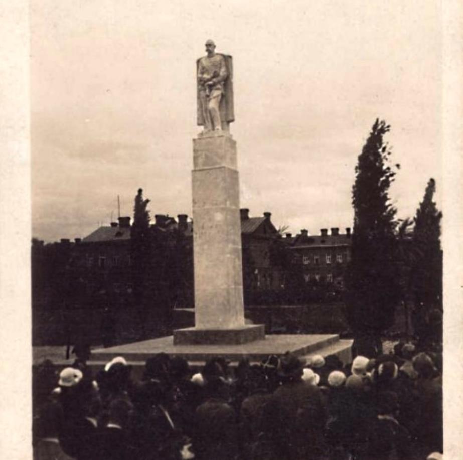 Monument to Marshal Józef Piłsudski. 1936. Photo of LAC
