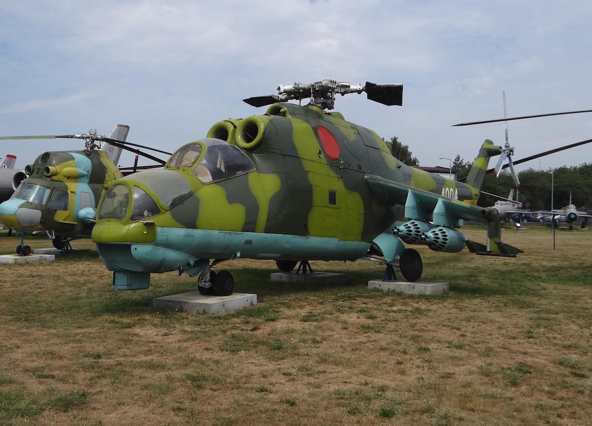 Mil Mi-24 Nb 4004. 2017 rok. Zdjęcie Karol Placha Hetman