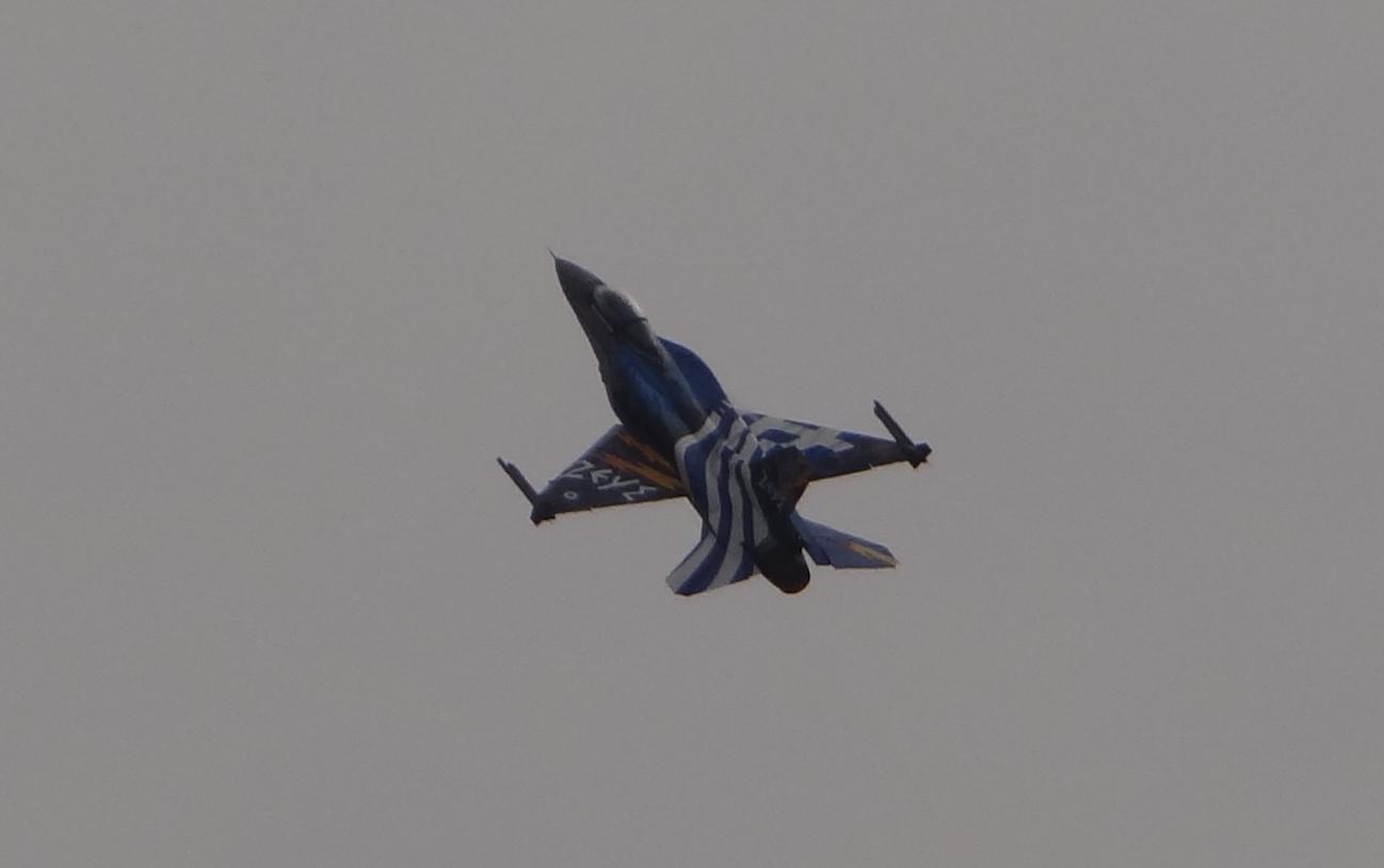 F-16 podczas pokazu. Grecja. Radom 2015r. Zdjęcie Karol Placha Hetman