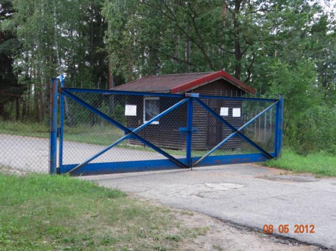 Główna brama wjazdowa na Lotnisko Szymany. 2012 rok. Zdjęcie Karol Placha Hetman