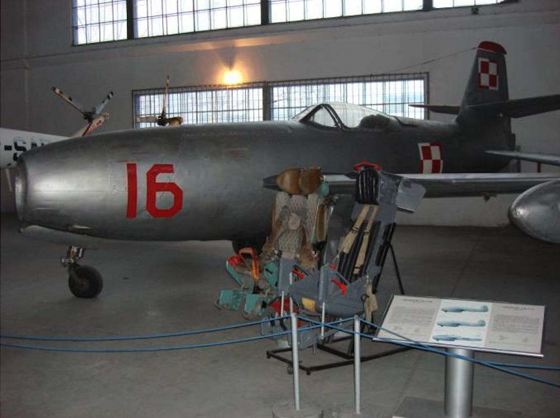 Jak-23 nb 16. 2008 year. Photo by Karol Placha Hetman