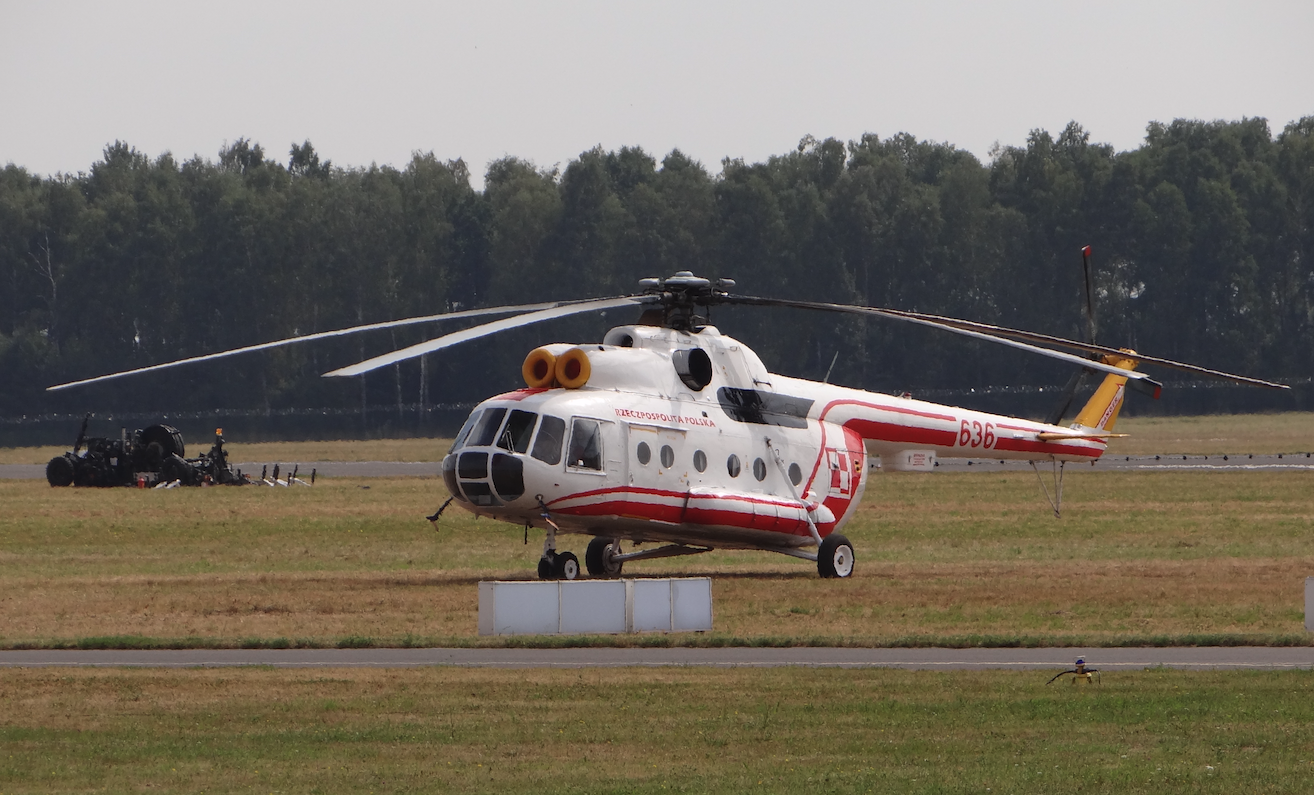 Mil Mi-8 nb 636. 2015 rok. Zdjęcie Karol Placha Hetman