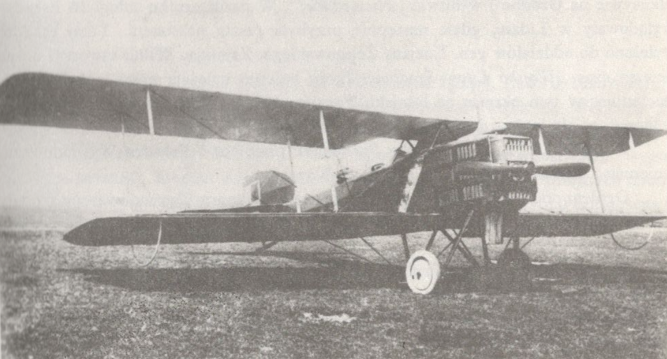 Breguet XIV A2. Zdjęcie LAC