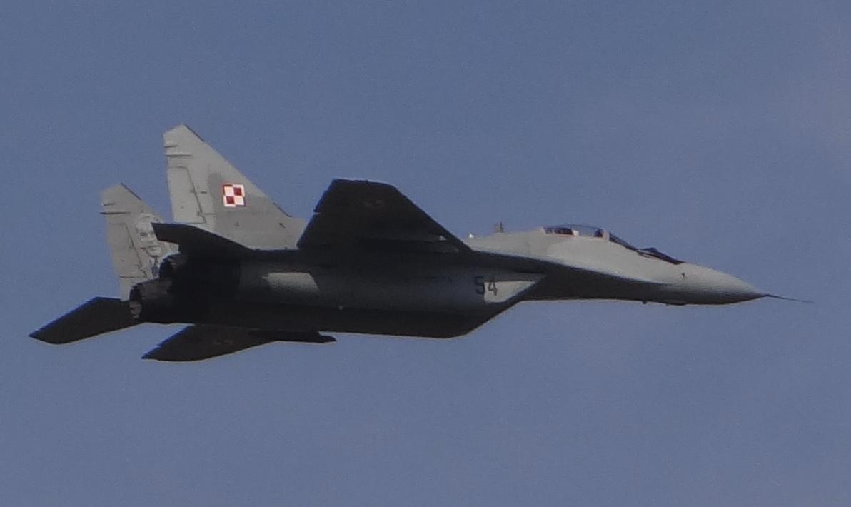MiG-29 nb 54. Dęblin 2017 year. Photo by Karol Placha Hetman