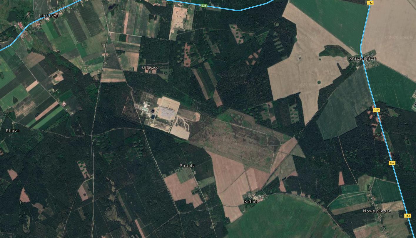 Dębica-Kalina airport. 2018 year. Google Photo