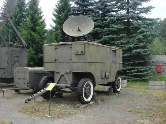 Stacja radiolokacyjna SON 9 A. 2010 rok. Zdjęcie Karol Placha Hetman