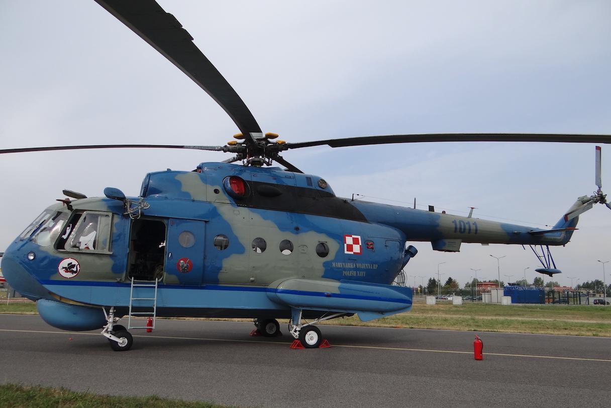 Mil Mi-14 nb 1011. 2015 rok. Zdjęcie Karol Placha Hetman