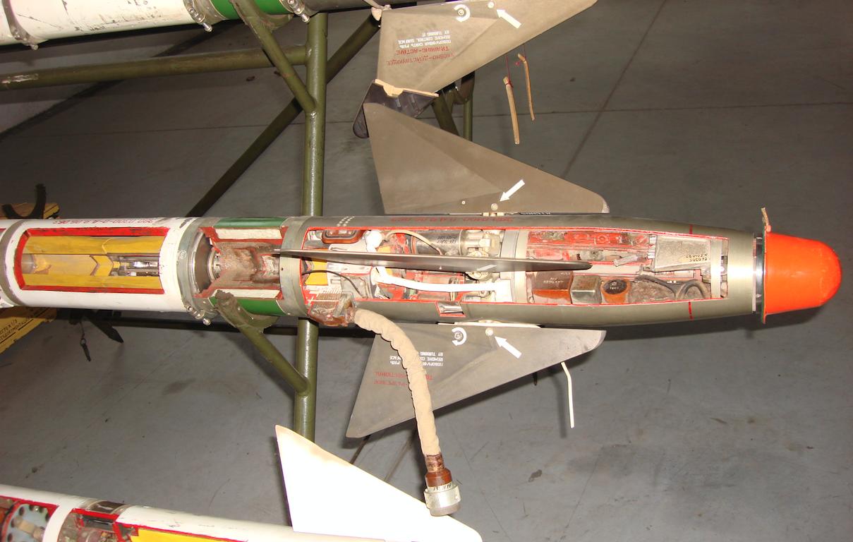 Pocisk rakietowy R-13M. 2007 rok. Zdjęcie Karol Placha Hetman
