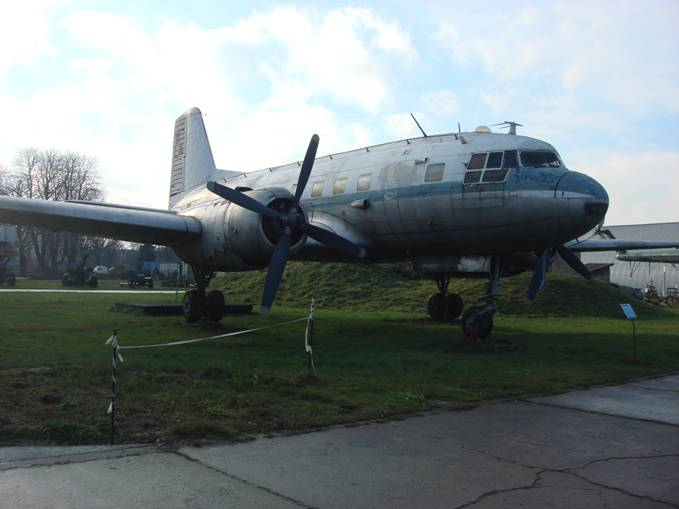 PL Ił-14 S nb 3078 w muzeum w Czyżynach. 2009r.