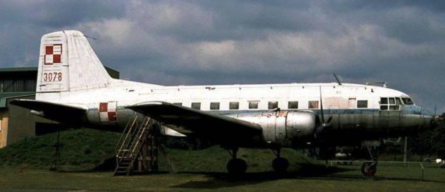 Il-14 nb 3078. 2004 year. Photo by Karol Placha Hetman