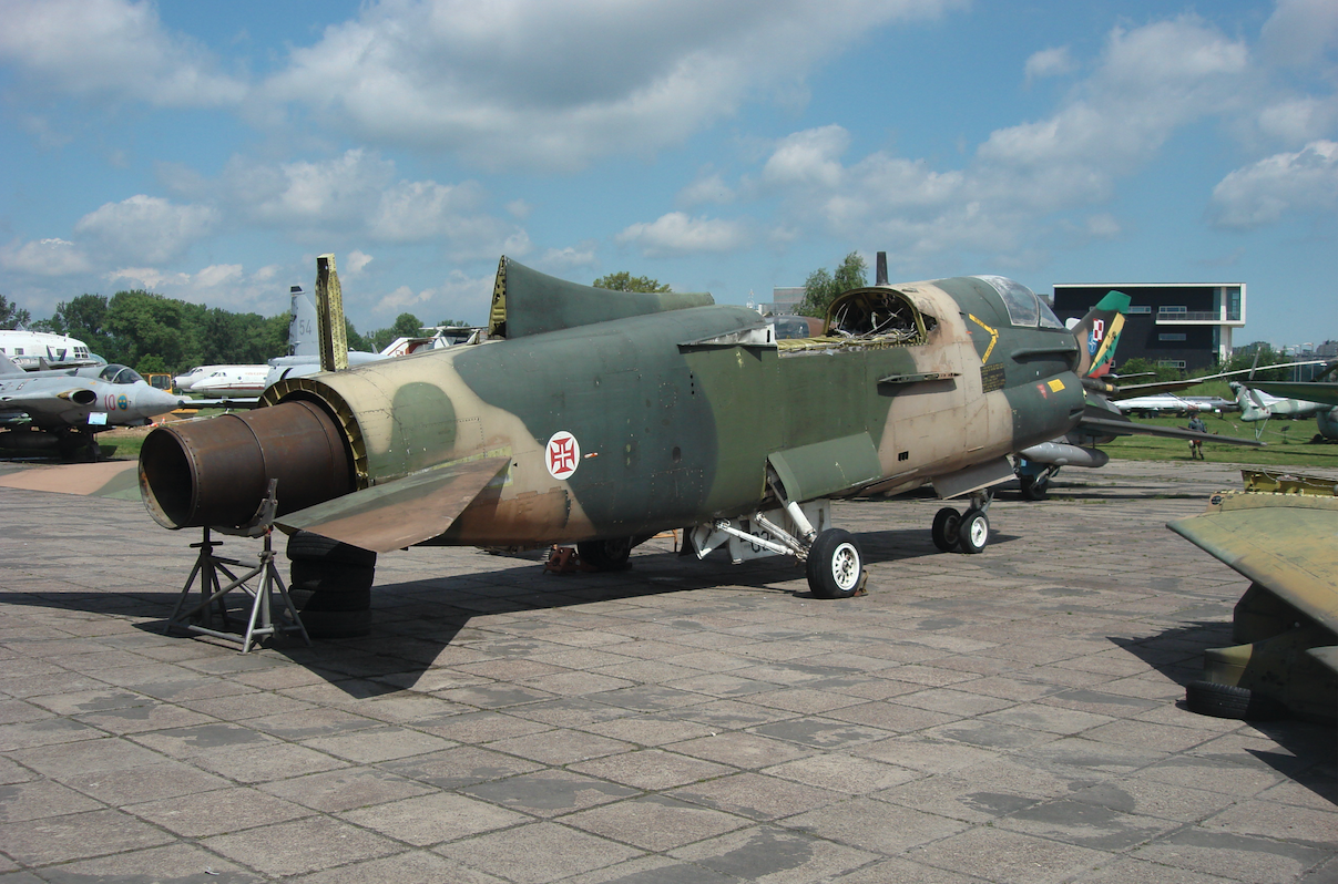 Vought A-7 P Corsair II nb 5502. 2009 rok. Zdjęcie Karol Placha Hetman