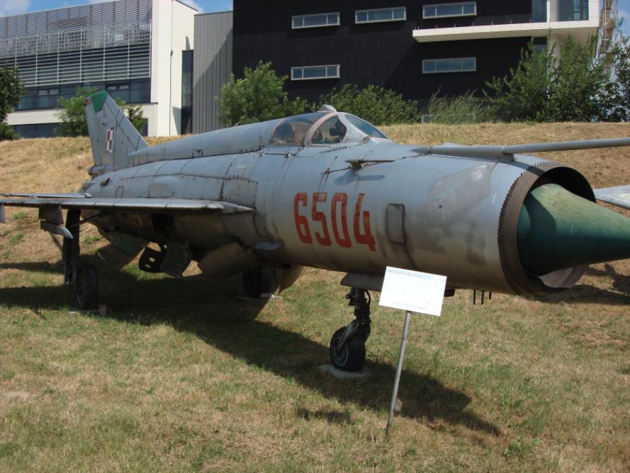 MiG-21 MF nb 6504. Czyżyny 2008. Photo by Karol Placha Hetman