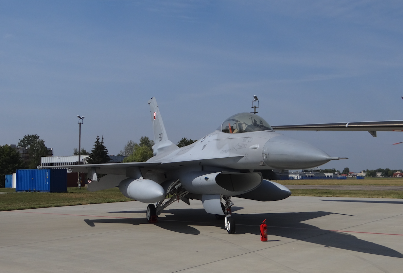 F-16 nb 561, szkolny. 2017 rok. Zdjęcie Karol Placha Hetman