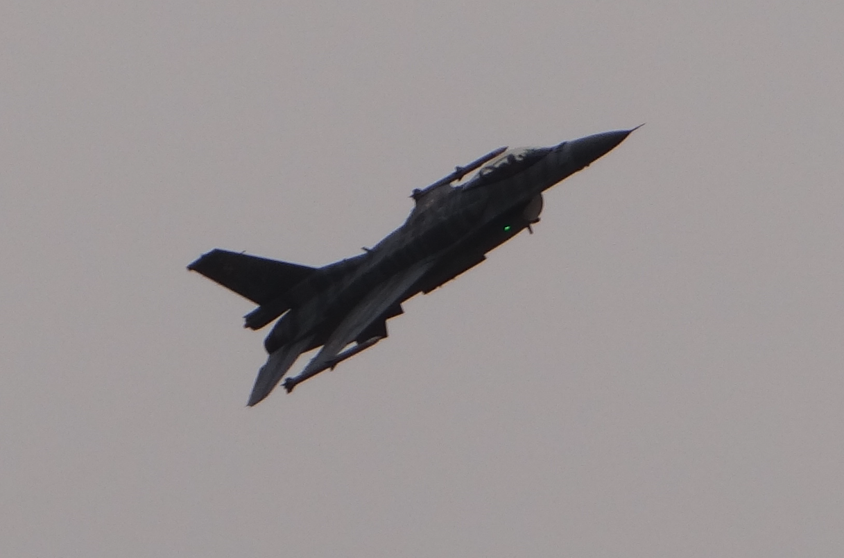 F-16 Jastrząb. 2021 rok. Zdjęcie Karol Placha Hetman