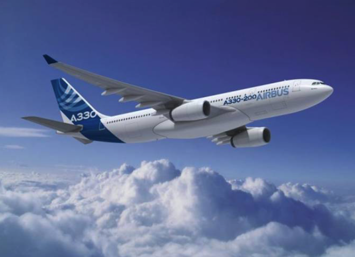 Airbus A 330. 2010 year. Photo of Airbus