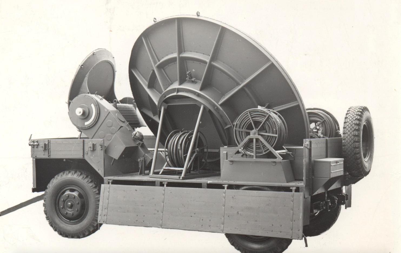 Przyczepa antenowa 2-PN-4. Zdjęcie z instrukcji