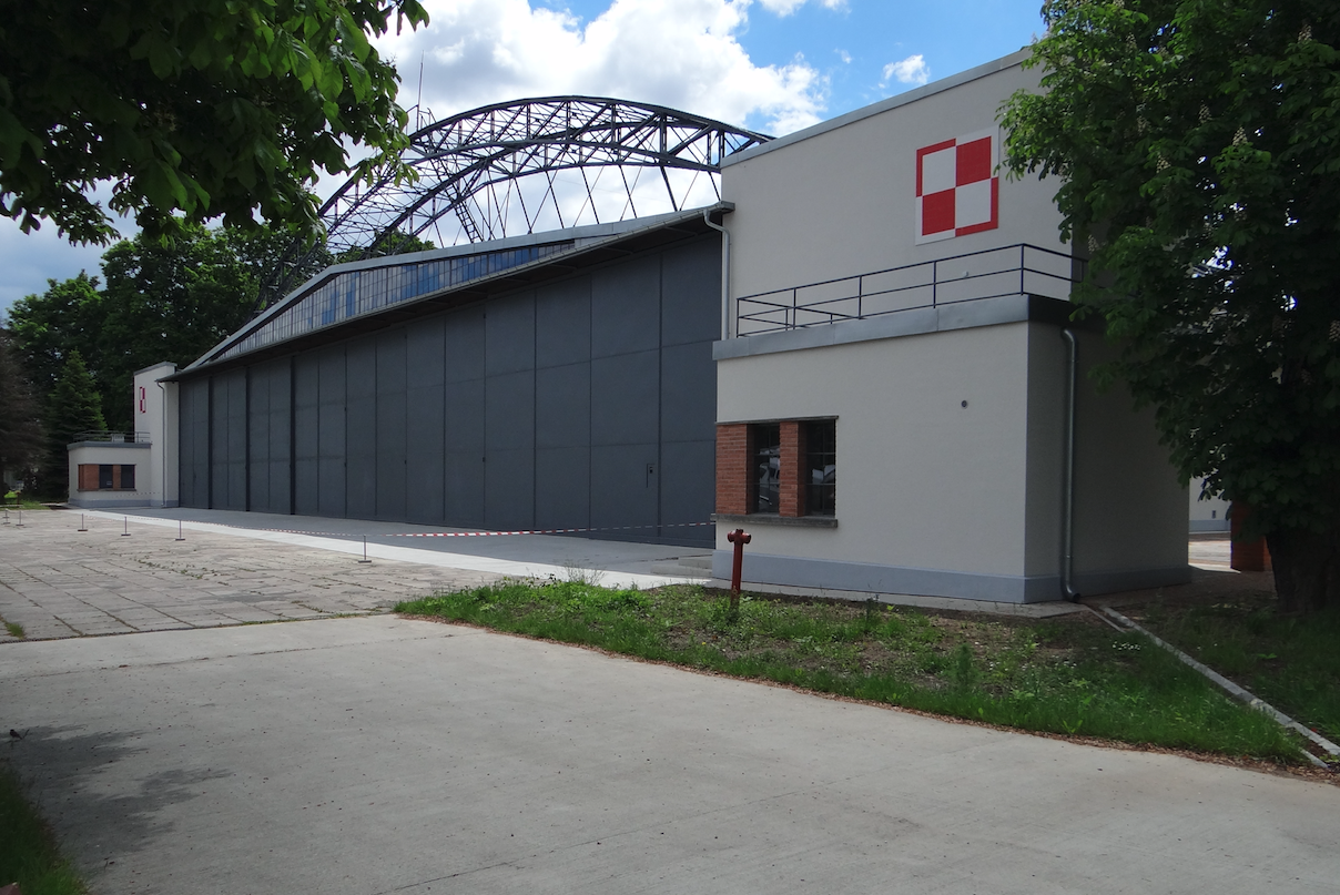 Hangar. 2020 year. Photo by Karol Placha Hetman