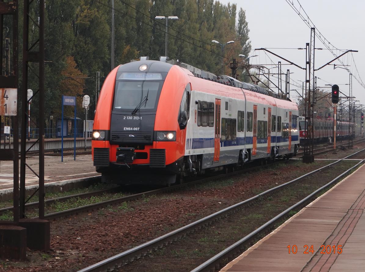 PESA Type 40WE series EN64. 2015. Photo Karol Placha Hetman