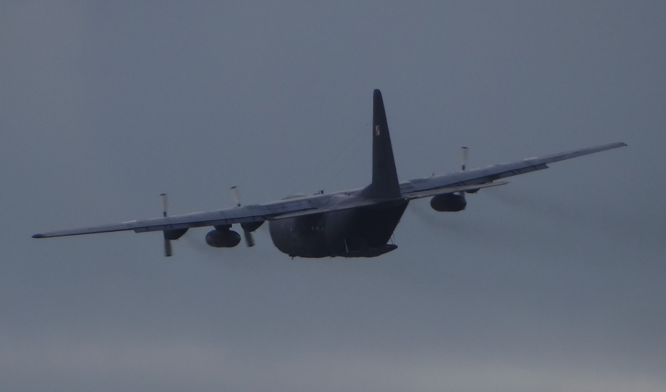 C-130 nb 1505. Giżycko 2018. Photo by Karol Placha Hetman