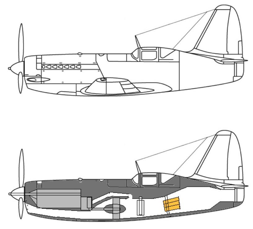 Samolot z biura OKB MiG I-250-01 z napędem typu motorjet. Zdjęcie LAC