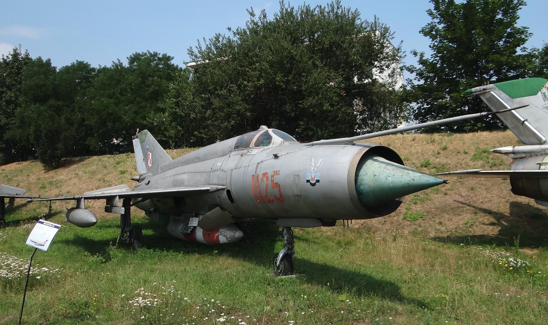 MiG-21 R nb 1125. Kraków 2019 rok. Zdjęcie Karol Placha Hetman