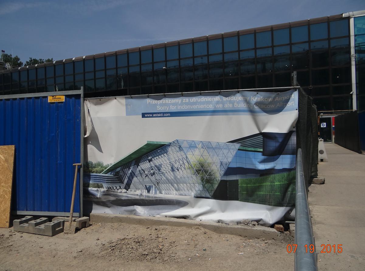 Rozbudowa terminalu. 2015 rok. Zdjęcie Karol Placha Hetman