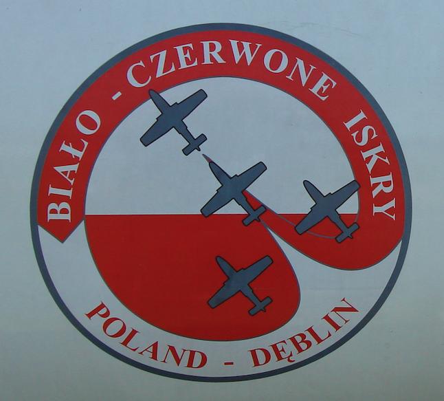 """Emblem """"Biało-Czerwone Iskry"""". 2007 year. Photo by Karol Placha Hetman"""