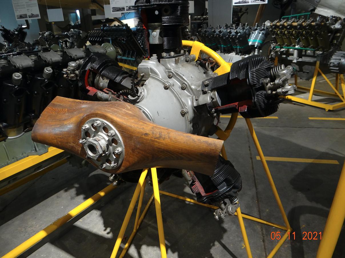 Silnik M-11 D. 2021 rok. Zdjęcie Karol Placha Hetman