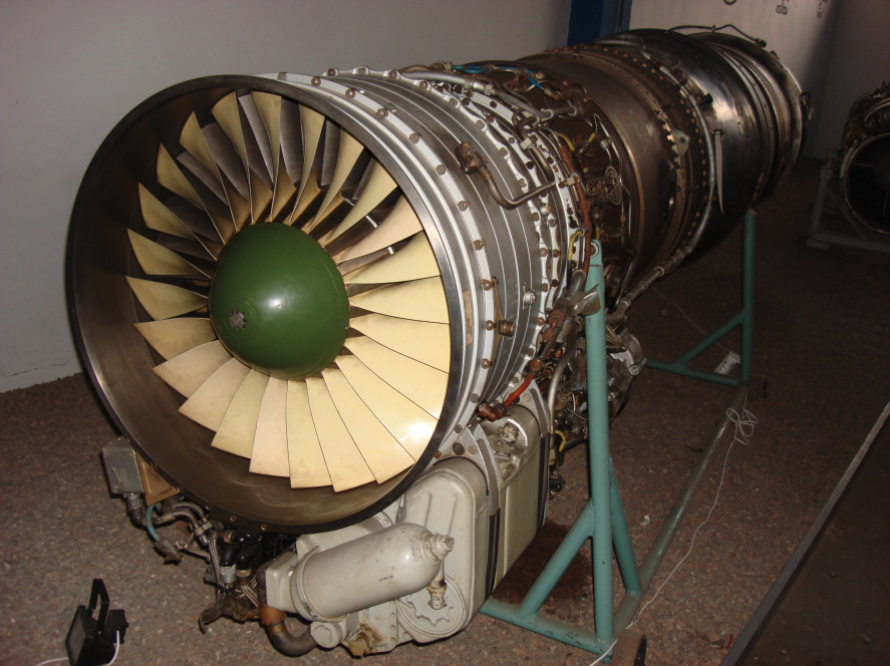 Silnik R-11. Czyżyny 2008 rok. Zdjęcie Karol Placha Hetman