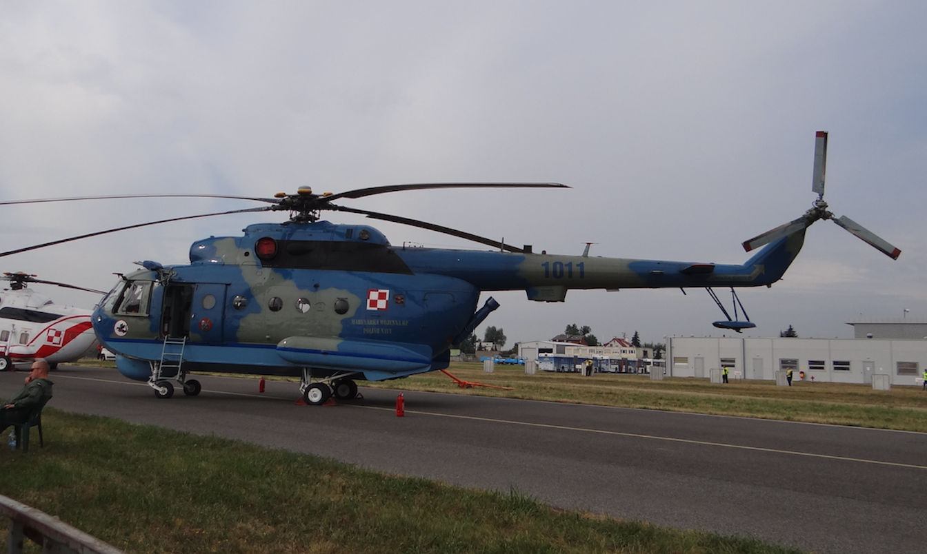 Mi-14 PŁ nb 1011. 2015 rok. Zdjęcie Karol Placha Hetman