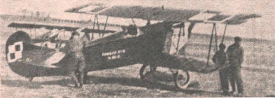 Fokker D-VII. Photo LAC, Dęblin