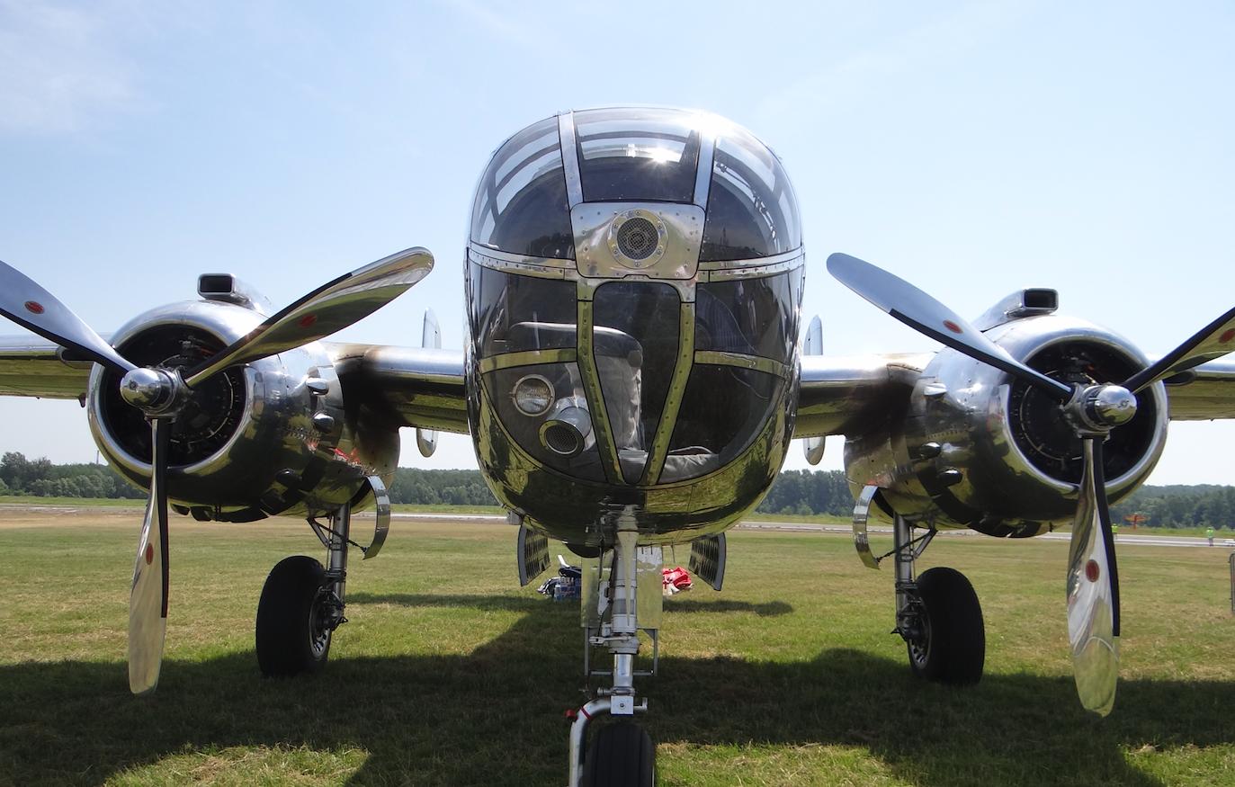 B-25 J Mitchell. 2019. Photo by Karol Placha Hetman