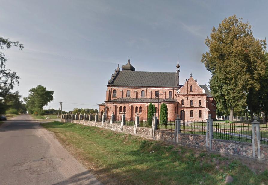 Rzymskokatolicka Parafia św. Jana Chrzciciela w Kroczewie. 2015 rok. Zdjęcie LAC