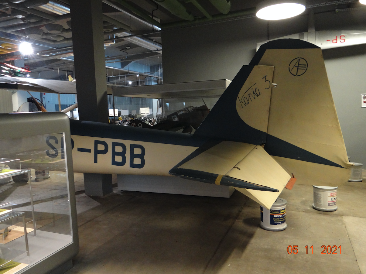 PZL S-4 Kania 3 No. 02 registration SP-PBB. 2021. Photo by Karol Placha Hetman
