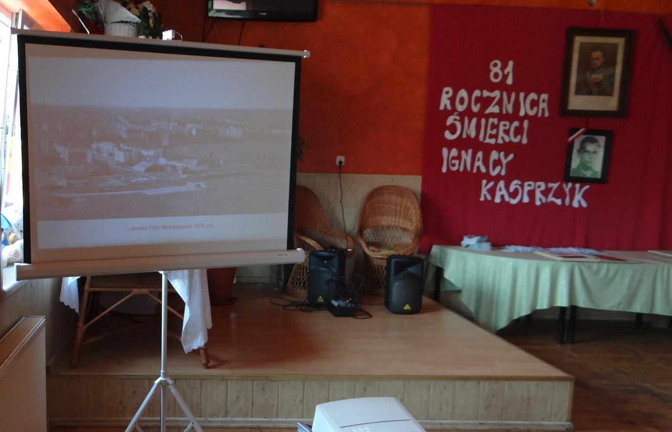 Prelekcja w Domu Kultury. Płoki 2019 rok. Zdjęcie Karol Placha Hetman