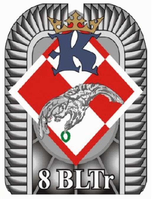 The emblem 8th BLTr