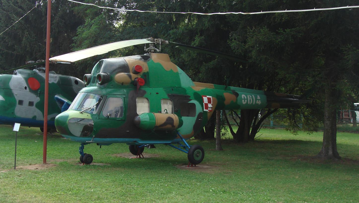 PZL Mi-2 nb 0614. Radom 2009 rok. Zdjęcie Karol Placha Hetman