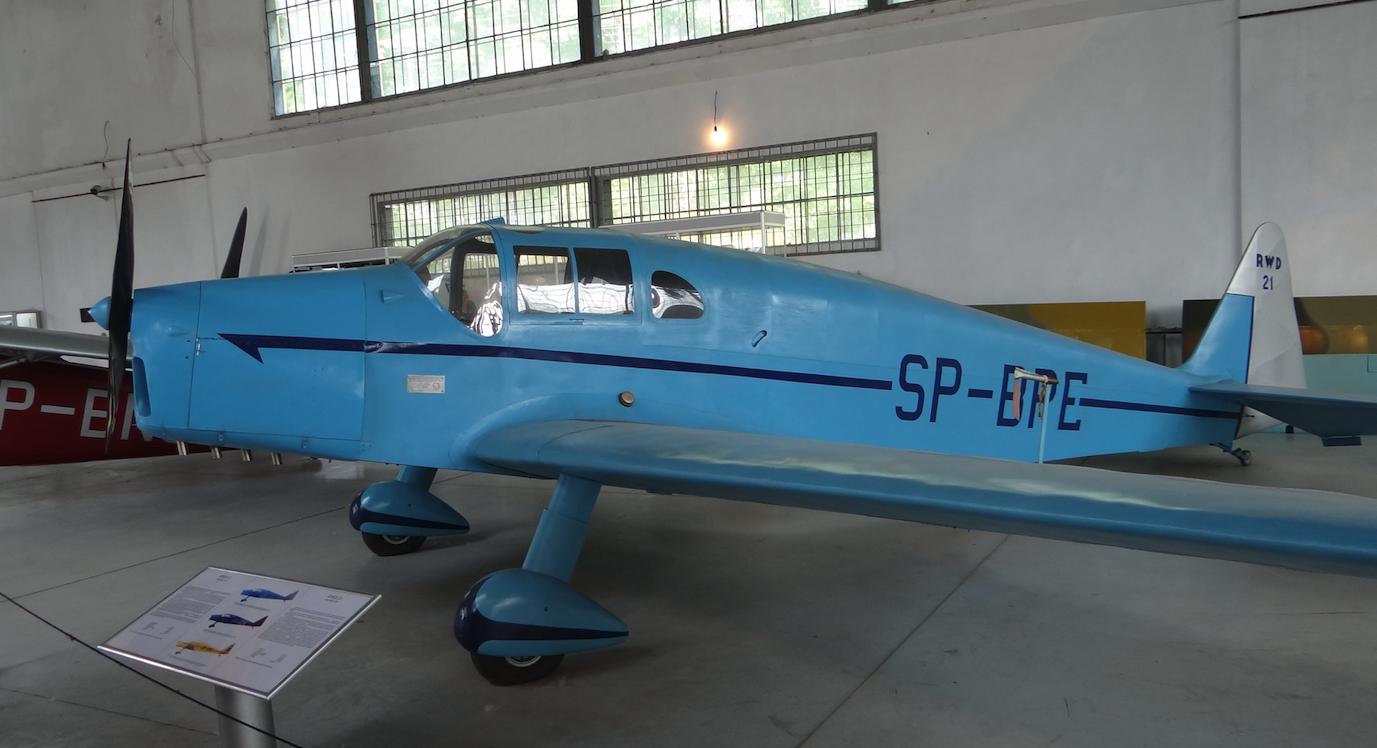 RWD-21 SP-BPE. 2018 rok. Zdjęcie Karol Placha Hetman