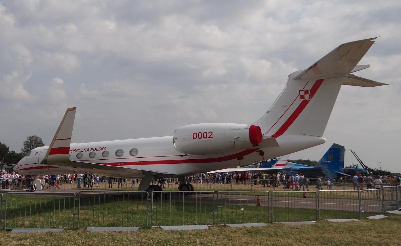 Gulfstream Aerospace G.550 nb 0002 Kazimierz Pułaski 2017. Photo by Karol Placha Hetman