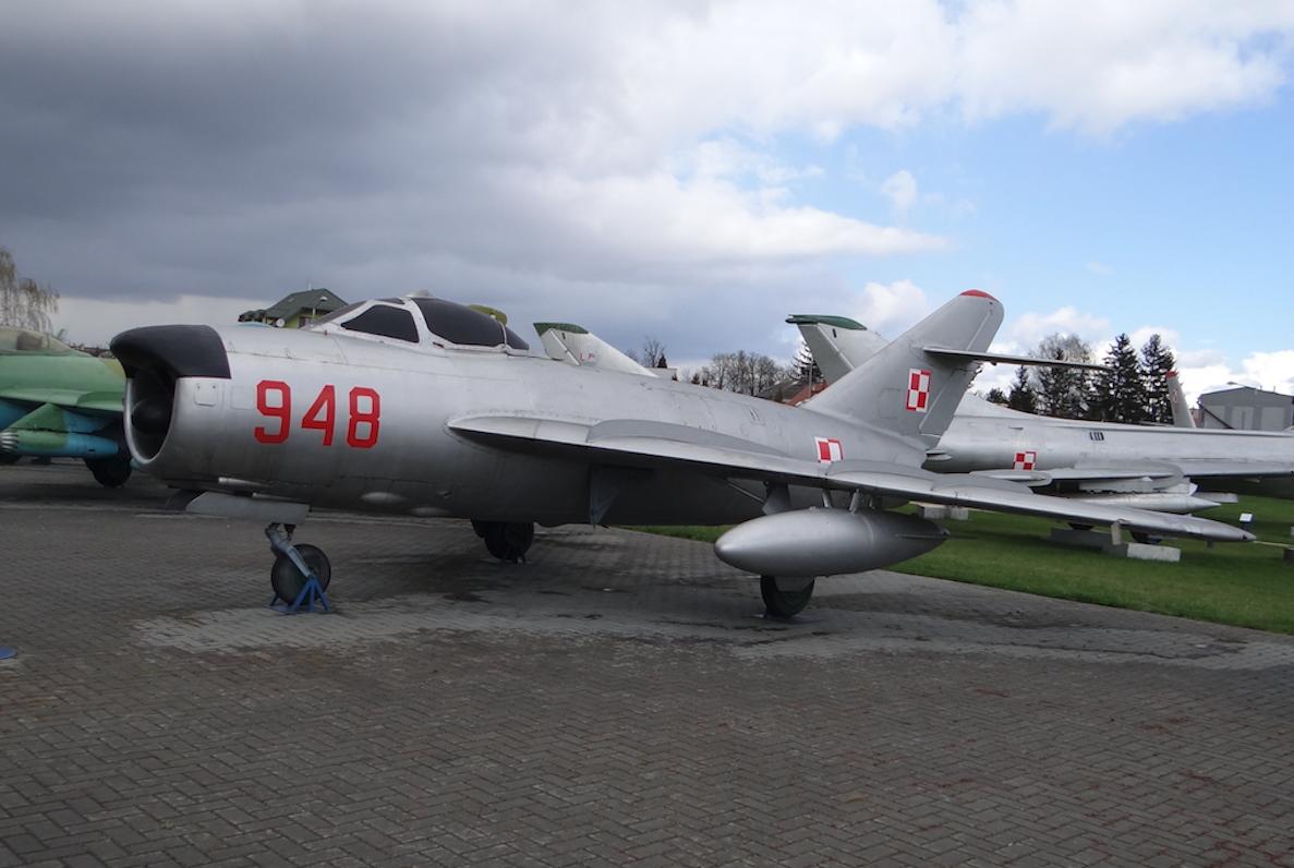 MiG-17 PF nb 948. 2012 rok. Zdjęcie Karol Placha Hetman