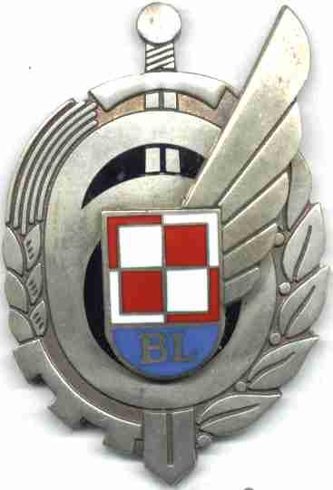 Godło-odznaka 6 Bazy Lotniczej